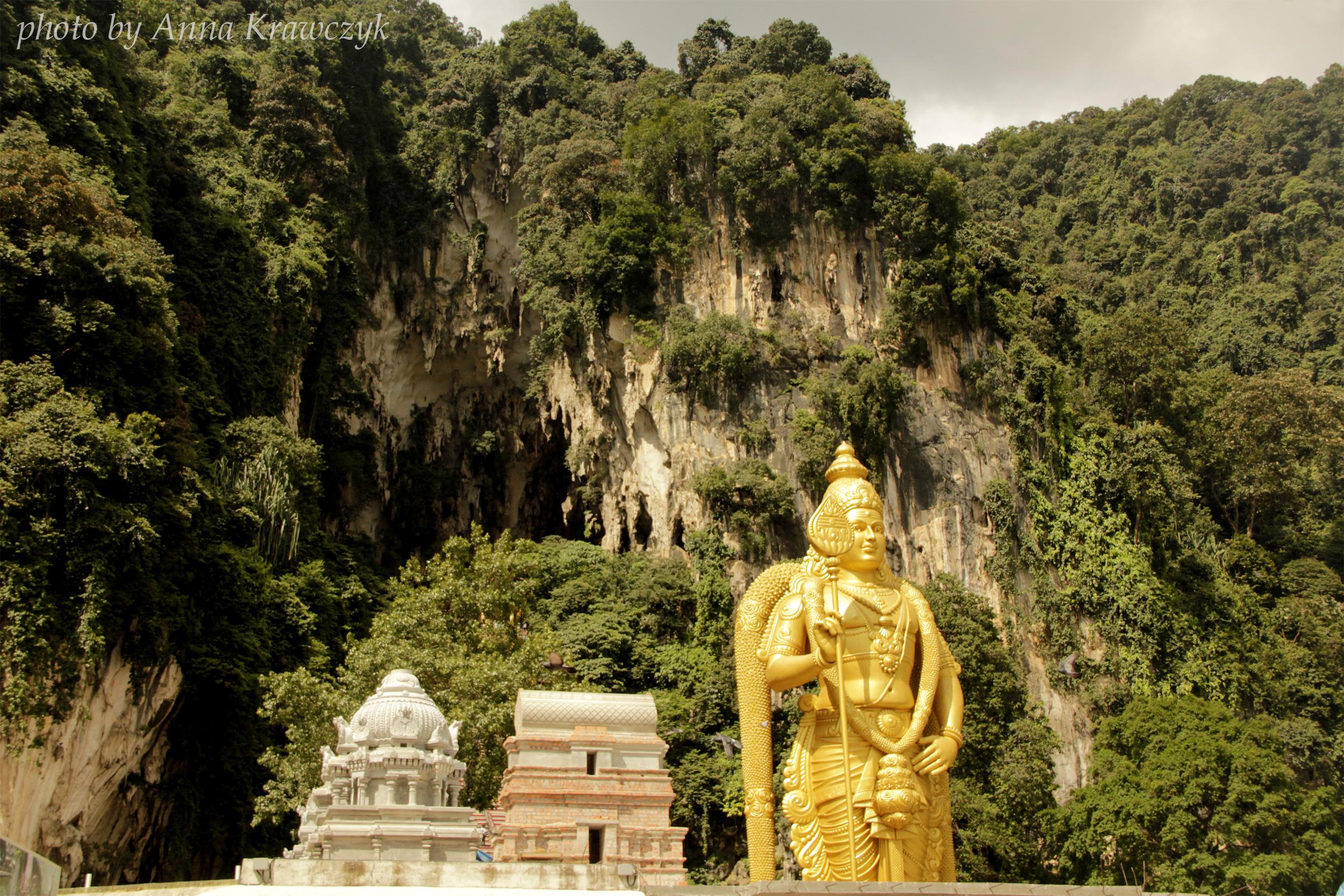Statue of Lord Murugan - Batu Cave