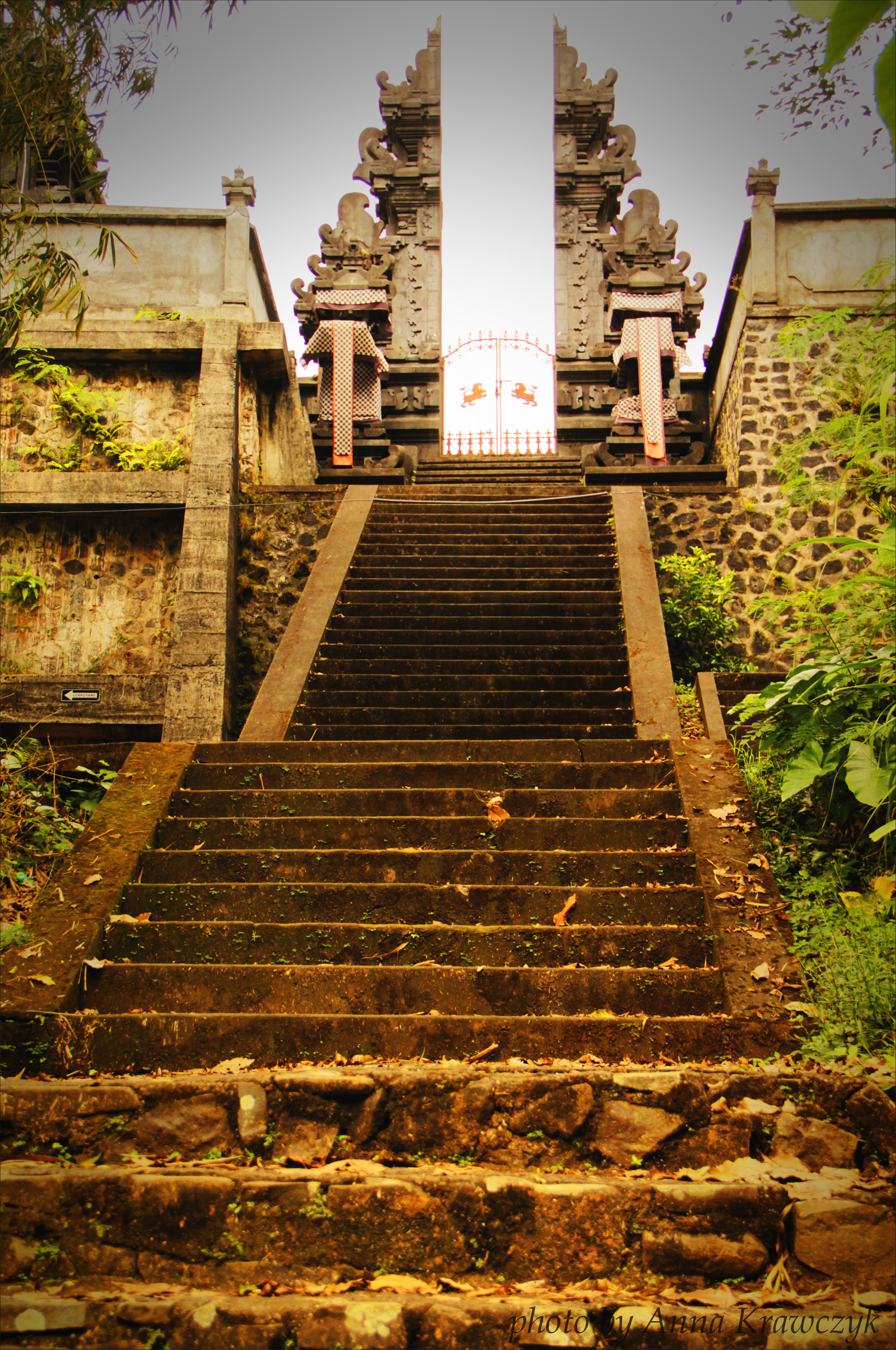 One of many stairs to Pura Lempuyang Temple, Bali